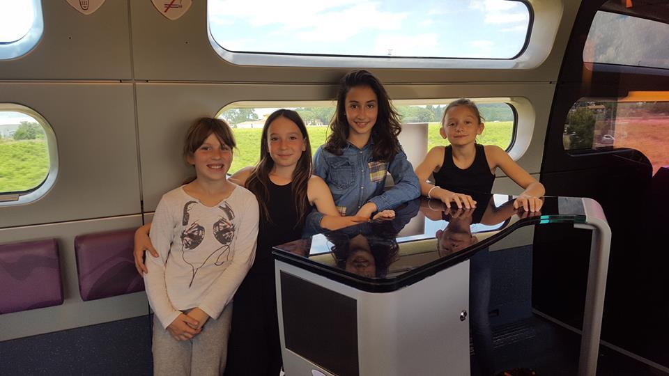 Chloé, Evana, Aurélia, Lucile (TFA benjamines)