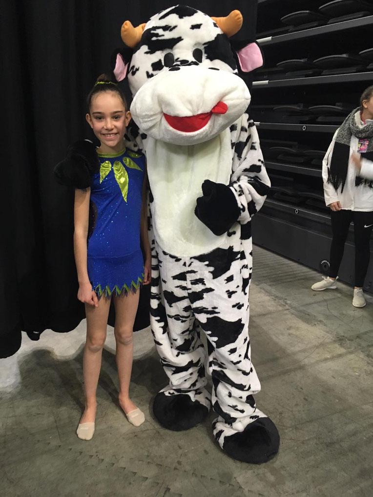 Charlotte, 13e gymnaste de France !